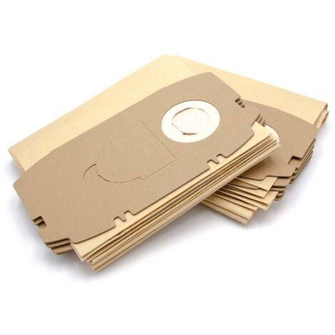 vhbw 10x sacs remplacement pour Festo / Festool 456772, 498410, T5 pour aspirateur - papier
