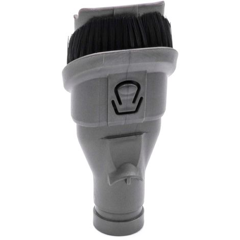 vhbw 2-in-1 Combination Tool Furniture Brush Crevice Tool for Vaccum Cleaner Dyson DC35 Digital Slim, DC35 Flexi, DC35 Full Kit