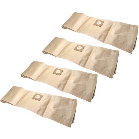 vhbw 20x bolsa reemplaza Bosch 2609256F33 para aspiradora - papel, 85,4cm x 26.9cm, marrón