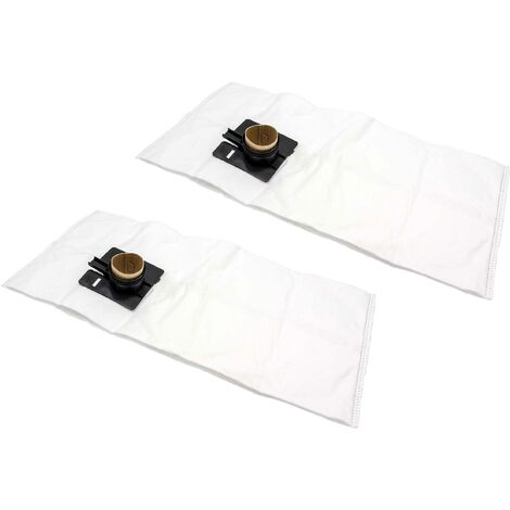 vhbw 20x sacs compatible avec Festo / Festool CT 22, CT 22 E, CTL 22, CTL 33, CTL 33 LE SG aspirateur - microfibres non tissées, blanc