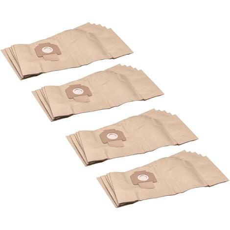 vhbw 20x sacs compatible avec Protool / Festool FB-VCP 260 E-L, VCP 260 E-M aspirateur - papier, marron