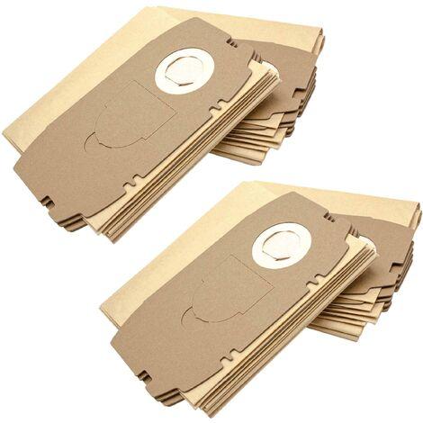 vhbw 20x sacs remplacement pour Festo / Festool 456772, 498410, T5 pour aspirateur - papier