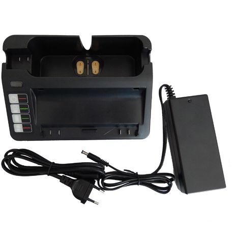 vhbw 220V Bloc d'alimentation Chargeur compatible avec iRobot, Roomba 866, 886, 900, 980 remplace 14904, BPL18151, 11700, 17373, NC-3493-919, 11702.