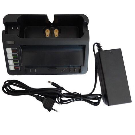 vhbw 220V Bloc d'alimentation Chargeur compatible avec iRobot Roomba 900, 960, 980 remplace 14904, BPL18151, 11700, 17373, NC-3493-919, 11702