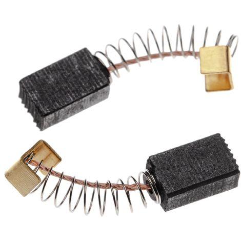G13SA,G13SB vhbw 2x balai de charbon G13S1 G12SR2 charbons pour moteur /électrique 6,5 x 7,5 x 13mm pour outil /électrique Hitachi G12SG G13 G12SR