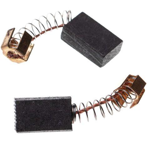 vhbw 2x balai de charbon pour moteur /électrique 6 x 9 x 12mm compatible avec Makita 3703 3708F 3707 3901 3708 3710 3707F 3709 6822 outil