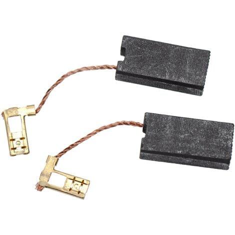 vhbw 2x Balais de charbon pour moteur électrique 7 x 12,5 x 26mm compatible avec Hilti DD 100-MEC, DD 100-W, DD 130, DD 80 marteau piqueur