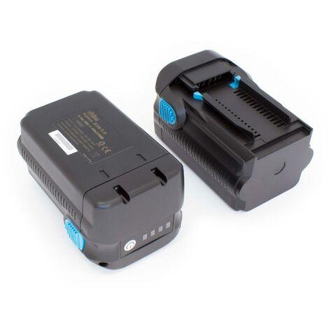 vhbw 2x Baterías compatible con Hilti VC 20-UL-Y, VC 20-UM-Y, VC 40-UL-Y, VC 40-UM-Y, RC 4/36-DAB; herramientas (6000mAh, 36V, Li-Ion)