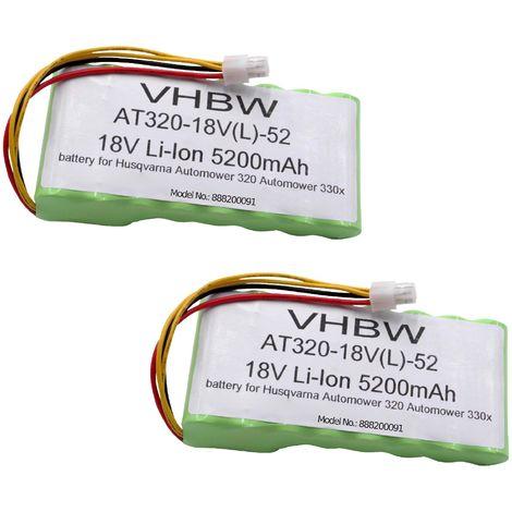 Batterie Outil /électroportatif Powery Batterie pour Husqvarna la Tondeuse /à Gazon Robot Automower 310 mod/èle 2015 18,5V Li-ION