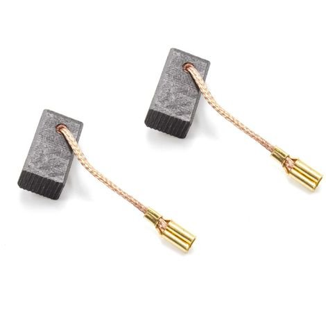 vhbw 2x carbon-brush 6.5mm x 8mm x 13mm for electric tools Bosch GOP 2000 CE device number 3601B30 000 to 071