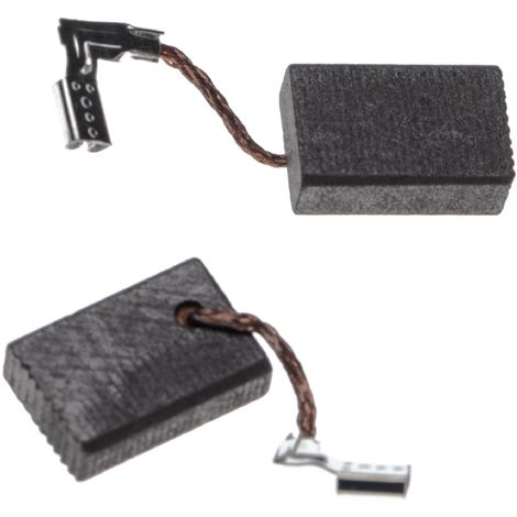 vhbw 2x Carbon Brush, Motor Brush 5 x 11 x 16mm replaces Makita 191978-9, CB-318, CB-325 for