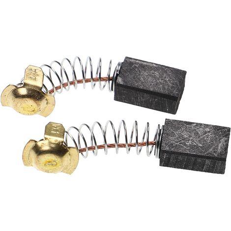 vhbw 2x Carbon Brush, Motor Brush 7 x 11 x 16,5mm suitable for Hitachi C10FS, C10FSB, C10FSH, C7SA, C7SC, C7ST, C8FB power tool