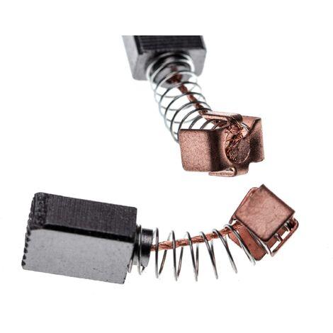 vhbw 2x Escobillas, carbonos, escobillas de carbono 5 x 8 x 11mm reemplaza Makita 191627-8, CB-56 para herramientas eléctricas