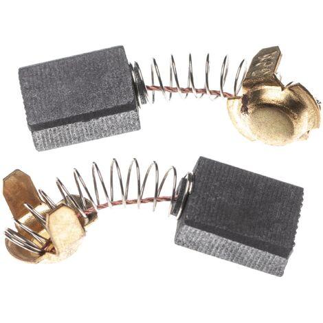 vhbw 2x Escobillas, carbonos, escobillas de carbono 7 x 13 x 16,5mm reemplaza Hitachi 999-038, 999038 para herramientas eléctricas