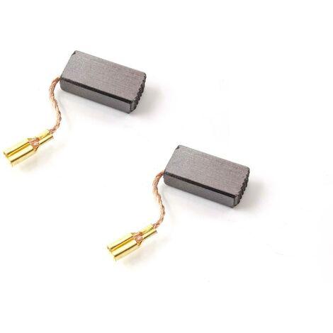 vhbw 2x escobillas de carbón, carbón para motor 5mm x 8mm x 16mm para herramientas eléctricas Bosch B 9150, B1100, B1150, GEX 150 Turbo