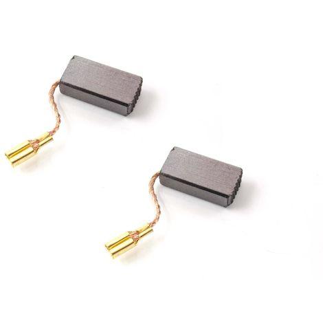 GWS 10-150 C 2x Kohle Bürsten 5 x 10 x 17mm für Bosch GWS 10-125 Z