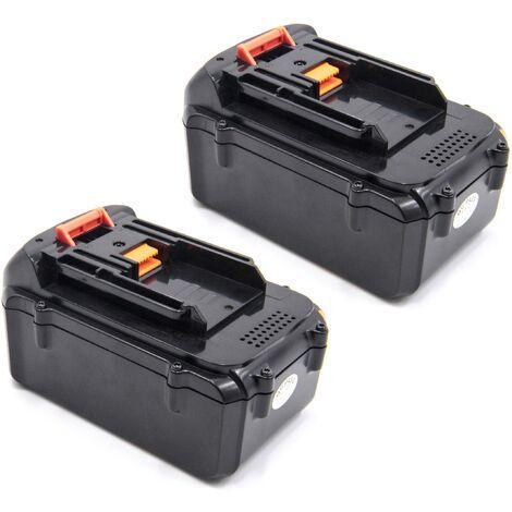 vhbw 2x Li-Ion batterie 4000mAh (36V) pour outil électrique outil Powertools Tools comme Makita BL3622A
