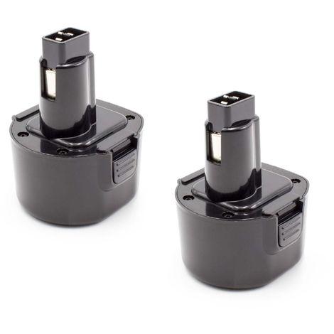 2x Batterie Accu Batterie 2000 mAh pour Makita cl102dzx da330 da330d da330dwe da330dz
