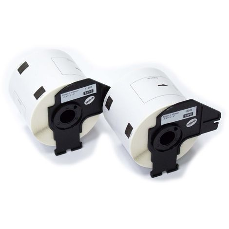 QL-1060N QL-1050N QL-500BS wie DK-22223. QL-500A QL-1060 QL-500 vhbw 10x Rolle Etiketten Aufkleber premium 50mm f/ür Brother P-Touch QL-1050