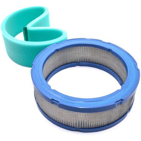 vhbw 2xFiltre de rechange Pré-filtre compatible avec Toro Aerateur, Greensmaster 3100, Groundsmaster 3100, Proline, Sand Pro 3020 E tondeuse à gazon