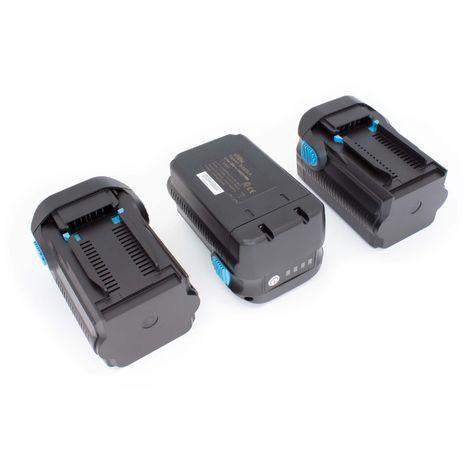 vhbw 3 x Li-Ion Batterie 6000mAh (36V) pour outils Hilti TE 6A, TE 7A, TE6A, TE7A comme B36V, B36.