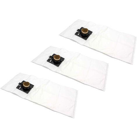 vhbw 30x sacs compatible avec Festo / Festool CTL 44 E-AS, CTM 22, CTM 22 E, CTM 33 LE aspirateur - microfibres non tissées, blanc