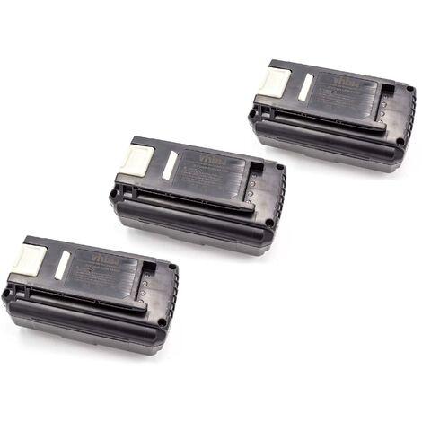 vhbw 3x Batterie Li-Ion 4000mAh (36V) pour les outils électriques, tels que Ryobi 5133002166, BPL3626, BPL3626D, BPL3640, BPL3640D, BPL3650D