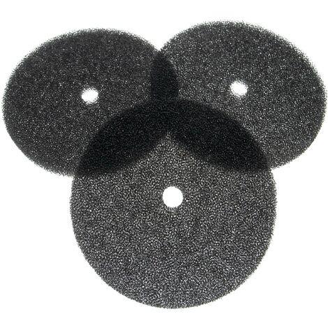 vhbw 3x filtres à air G2 compatible avec Lunos 9/IBS Ventilateur de salle de bain, appareil de ventilation (3x filtre à grosse poussière)