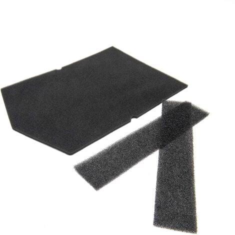 vhbw 3x Filtres en mousse pour séchoir échangeur de chaleur Miele T 8801 WP HomeCare XL T 8826 WP EcoComfort T 8827 WP EcoComfort T 8847 WP EcoComfort