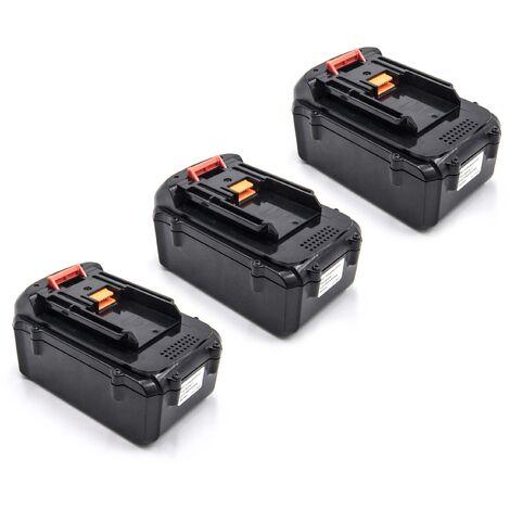 vhbw 3x Li-Ion batterie 3000mAh (36V) pour outil électrique outil Powertools Tools Dolmar AC-3600 batterie de débroussailleuse, taille-haie AH-3666