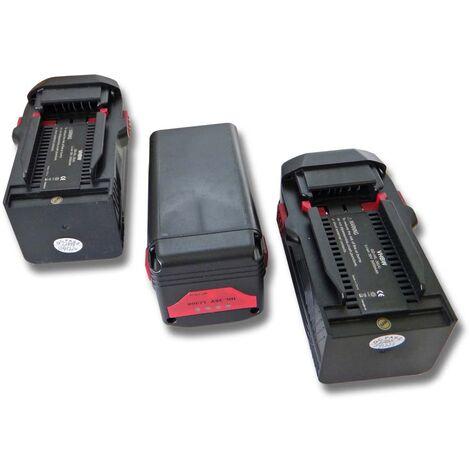 vhbw 3x Li-Ion batterie 3000mAh (36V) pour outils  Hilti TE6-ALi, TE6-A36, WSR36-A, WSR36A remplace 2203932, 418009.