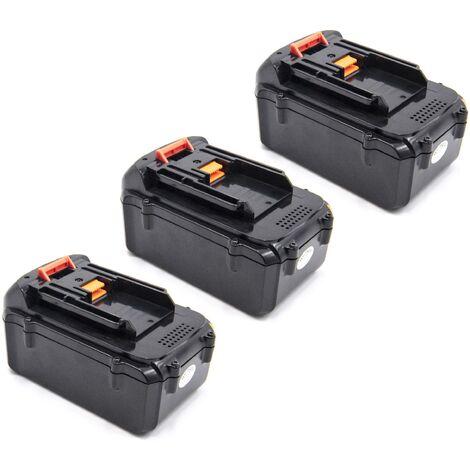 vhbw 3x Li-Ion batterie 4000mAh (36V) pour outil électrique outil Powertools Tools Dolmar AC-3600 batterie de débroussailleuse, taille-haie AH-3666