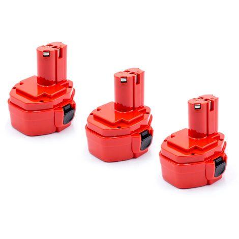Outil Batterie Pile Accu Noir 1500 mAh pour PANASONIC ey9l10b