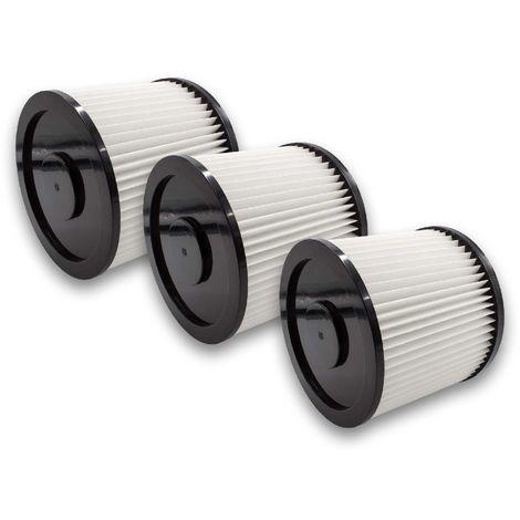 5x Rund-Filter Lamellenfilter für Kärcher 6.904-170.0 Einhell 2351110