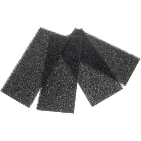 vhbw 4x filtres à air G3 compatible avec Lunos e go, EGO Ventilateur de salle de bain, appareil de ventilation (4x filtre à grosse poussière)