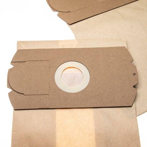 vhbw 5 bolsas papel compatible con Monix electronic, Titan Automatic aspiradora 31,5cm x 18cm