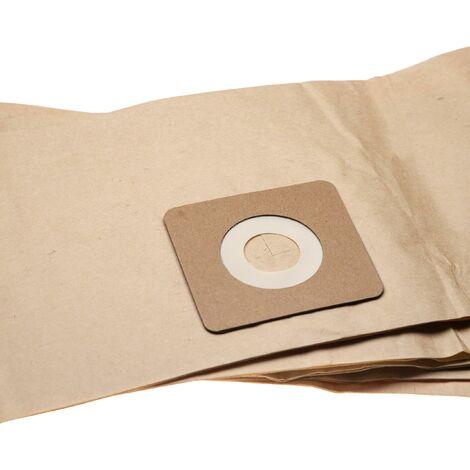 vhbw 5 dust bags paper compatible with Bosch UniversalVac 15 vacuum cleaner 85.95cm x 19.9cm