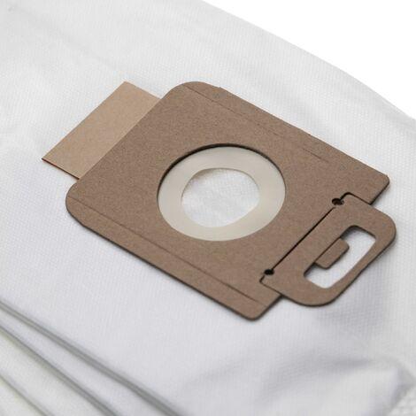 vhbw 5 sacs micro fibres non tissées compatible avec Nilfisk P20, P30, P40, Power Allergy, Power Energy Eco, Power P Animal aspirateur
