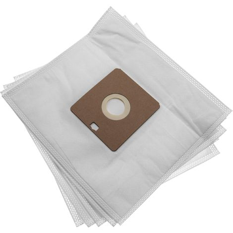 5x Sacs micro fibres non tissées pour Nilfisk Power Allergy,Energy Eco
