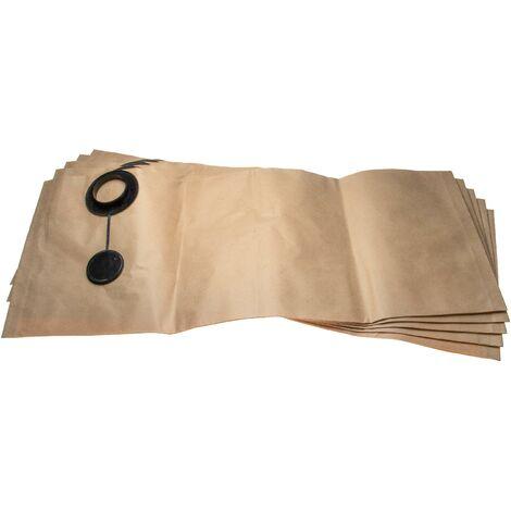 vhbw 5 sacs papier remplace Festool 483142, FIS-SR 12/14 pour aspirateur 33,8cm x 83.4cm