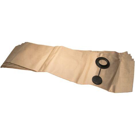 vhbw 5 sacs papier remplace Festool 483143, FIS-SR 5/6 pour aspirateur 29,7cm x 99.6cm