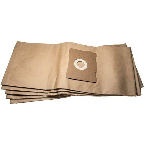 vhbw 5 sacs papier remplace Protool Festool 633582 pour aspirateur 66.25cm x 29.65cm