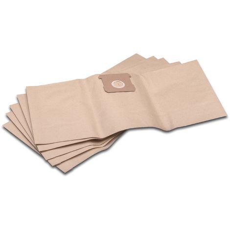 10x Staubsaugerbeutel Papier für Einhell RT-VC 1500 R