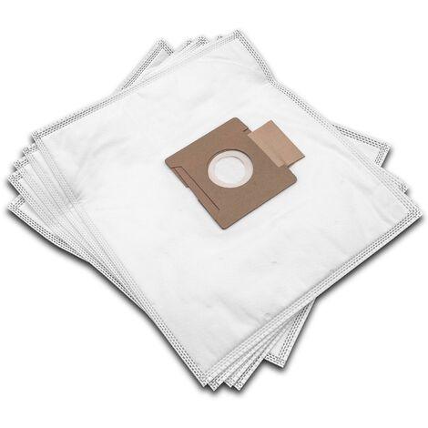 vhbw 5 Staubsaugerbeutel passend für Girmi Asso AP 25, 26 Staubsauger, Mikrovlies