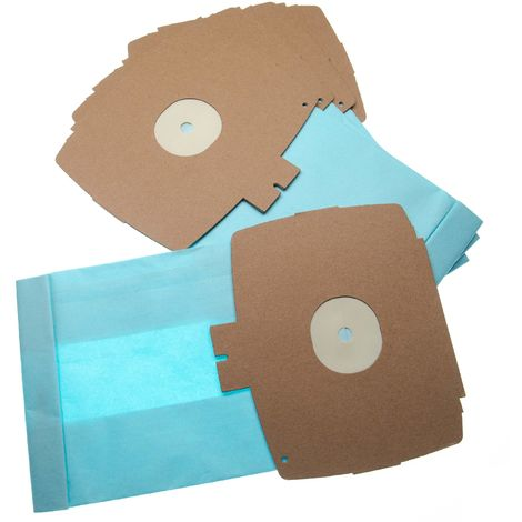 vhbw 5 Staubsaugerbeutel passend für Progress PV 6 / PV6 Staubsauger, Papier 26.1cm x 15.05cm