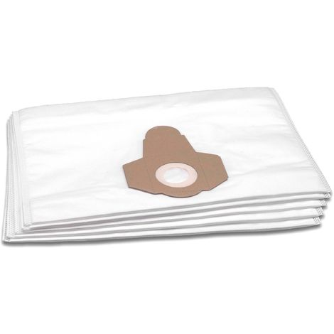 Pack Of 10 ZR81 Type Vacuum Dust Bags for Karcher WD3200CCC WD3300M WD3310M