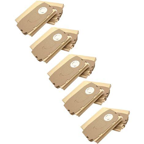 vhbw 50x sacs remplacement pour Festo / Festool 456772, 498410, T5 pour aspirateur - papier