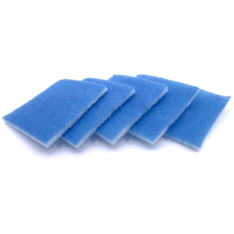 vhbw 5x Filtre pour l'unité de ventilation, ventilateur de bain Limodor / Ventilateur Limotserie Compact