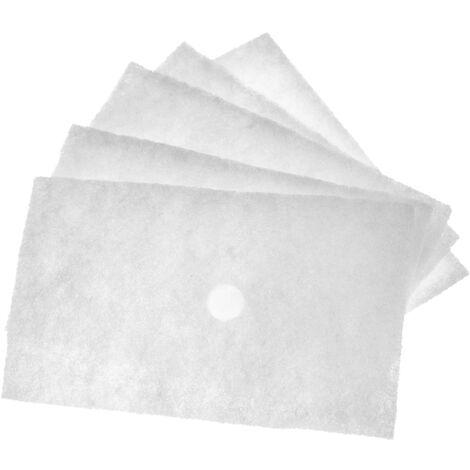 vhbw 5x filtres à air G2 remplace Lunos 032 913, 032913 pour Ventilateur de salle de bain, appareil de ventilation (5x filtre à grosse poussière)