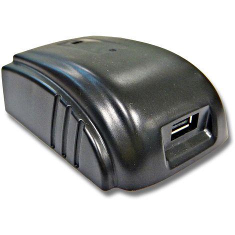 vhbw Adaptador de batería para herramienta Würth 28V como fuente de energía externa como DCB090.